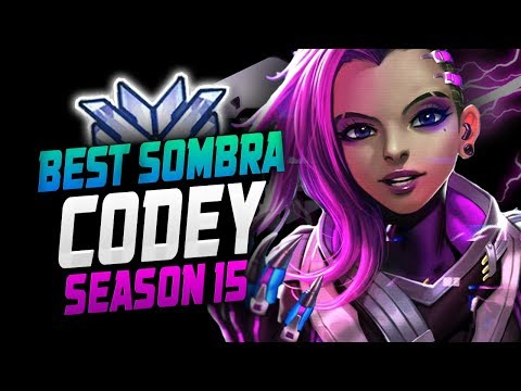 Sombra Can be STRONG - Codey! [ OVERWATCH SEASON 15 TOP 500 ] thumbnail