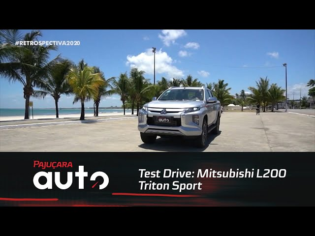 Retrospectiva 2020: Reveja o test drive da Mitsubishi L200 Triton Sport