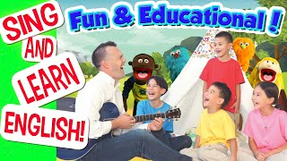 Big Wave English | Children's Songs for Learning English | Educational Kids' Music
