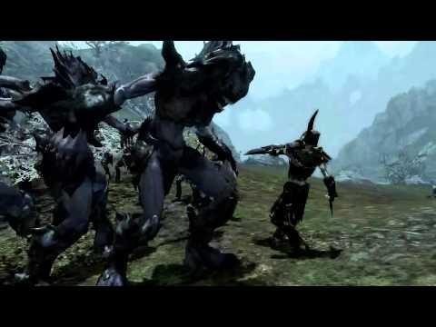 Skyrim Battles - 10 Lurker Vindicators vs 10 Draugr Death Overlords [Legendary Settings]