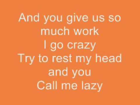 NBB-I Don't Want to Go To School(With Lyrics) - YouTube