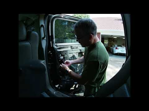 H2 Hummer Repairs: Door Panel removal and Power Window repair