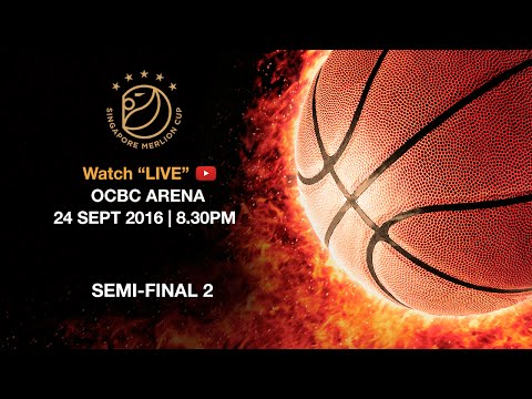 Basketball: ​Semi-final Mighty Sports vs Singapore Slingers | Singapore Merlion Cup 2016