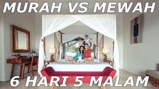 Gambar cover Rekomendasi 6 Hari 5 Malam di Bali | Review 4 Hotel Murah & Mewah | Bali Travel Vlog