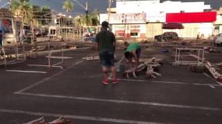 Temendo boatos, feirantes desmontam feira da Vila União