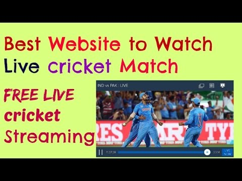 Best 10 Live Cricket Streaming Sites