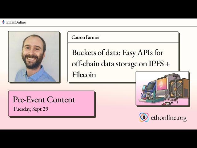 ETHOnline 🛠️ Buckets of data: Easy APIs for off-chain data
