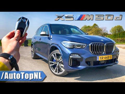 BMW X5 M50d G05 REVIEW POV Test Drive On AUTOBAHN & ROAD By AutoTopNL