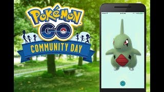 From normal Larvitar --» Pupitar --» Tyranitar with Smack Down attack - Pokemon Go community day