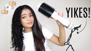 TESTING THE MARBLE BEAUTY ONE STEP DRYER ON CURLY HAIR - HONEST OPINION