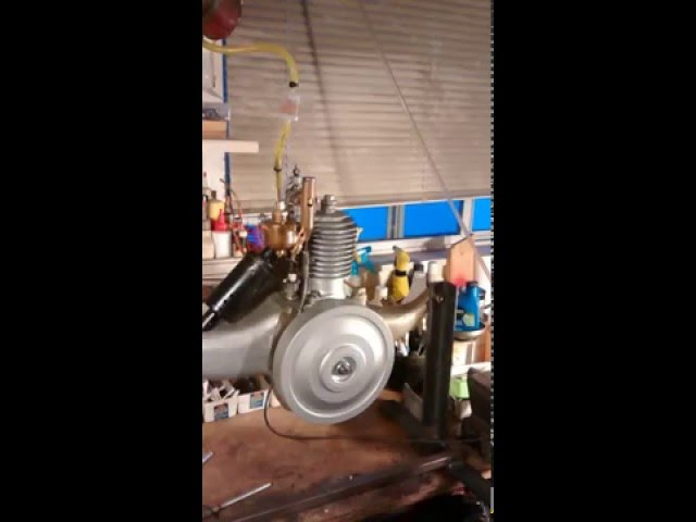 Briggs & Stratton Flyer Motor Wheel Started