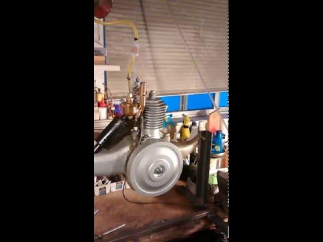 Briggs & Stratton Flyer Motor Wheel Started