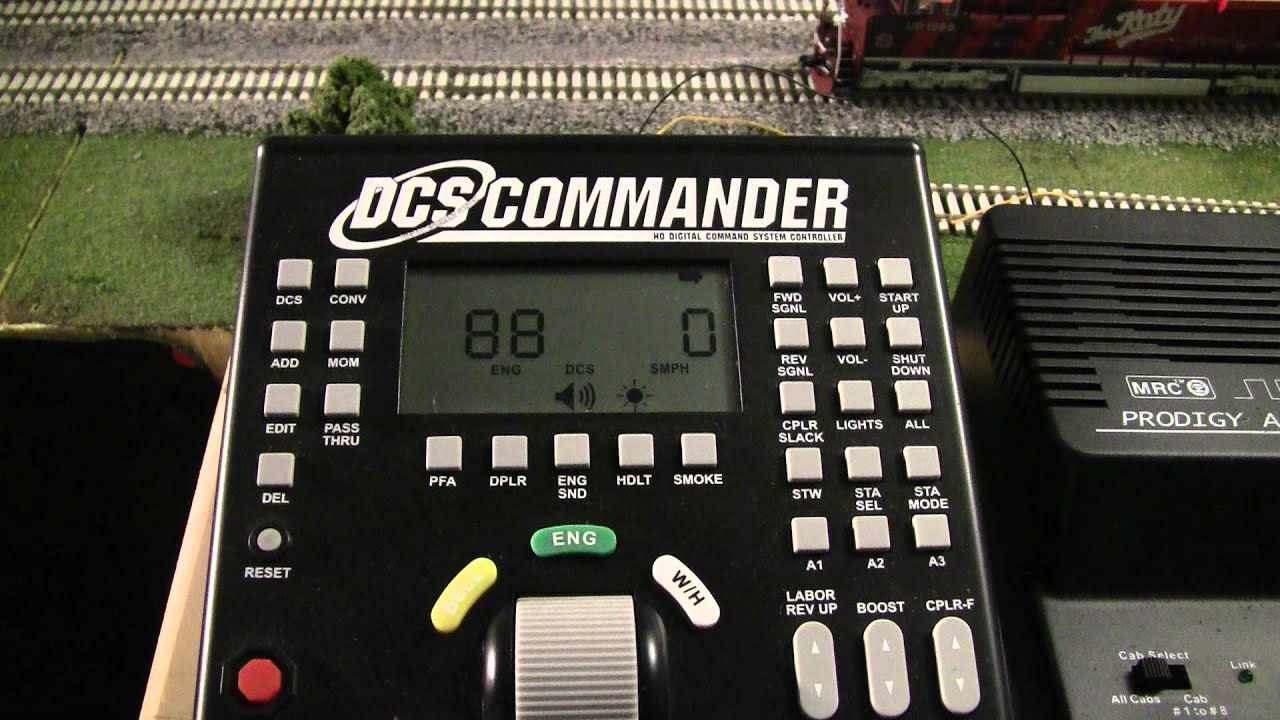 Review Of The Mth Dcs Commander