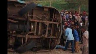 News today: Bus crash kills at least 50 in Kenya