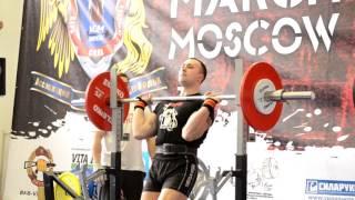 Пауэрспорт АМ-Армейский жим-Кубок Мира АСМ Витязь