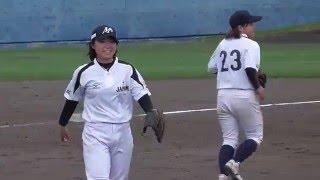 2016.4.16 高知市の春野総合運動公園野球場で行われている、マドンナジ...