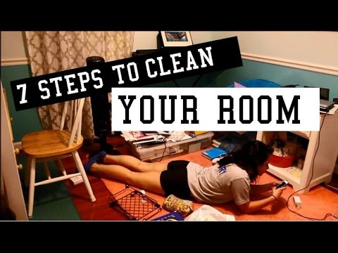 The 7 Real Steps To Clean Your Room Youtube