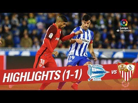 Alaves Vs Sevilla Highlights