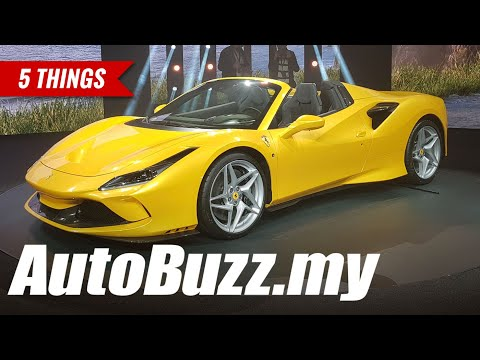 2019 Ferrari F8 Spider V8 turbo, 5 Things - AutoBuzz.my