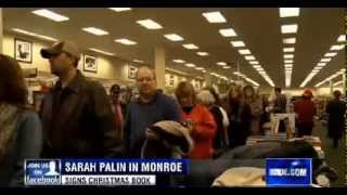 • Long Lines for Sarah Palin in Monroe Louisiana • 12/7/13 •