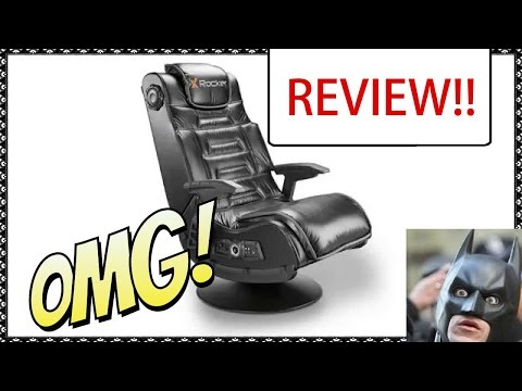 HIGH DEF!  X Rocker 2.1 Wireless Gaming Chair Review !