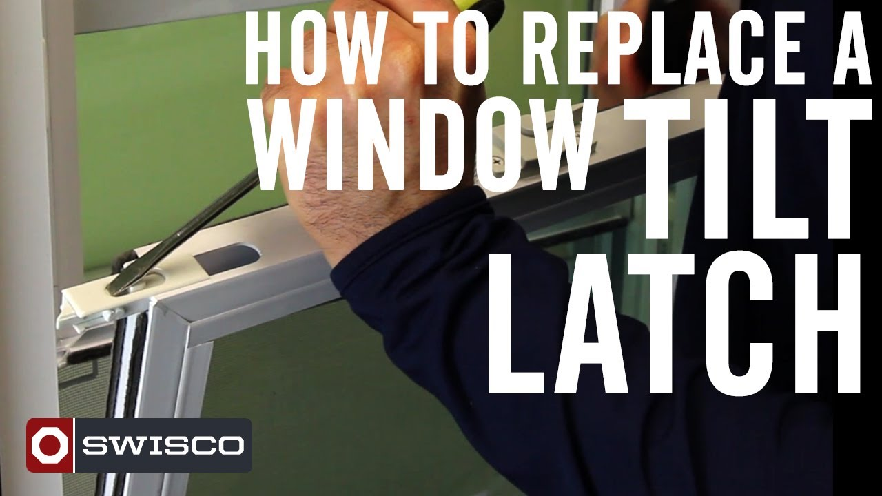 & How to Replace a Window Tilt Latch [1080p] - YouTube