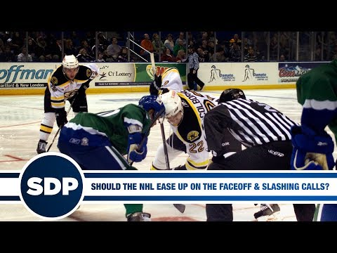 Should the NHL Ease Up on the New Faceoff and Slashing Rules? | The Steve Dangle Podcast