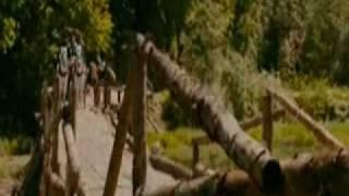 Кадры из фильма Слуга Государев с участием Ольги Арнтгольц  в пути ,засада