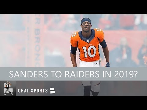 Oakland Raiders Rumors: Marshawn Lynch Returning, Signing Emmanuel Sanders & Kelvin Benjamin In 2019