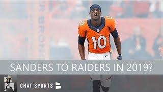 Oakland Raiders Rumors: Marshawn Lynch Returning, Signing Emmanuel Sanders & Kelvin Benjamin In 2019