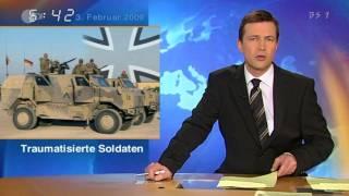 トラウマに苦しみ続けるアフガニスタン・コソボ帰還ドイツ軍兵士達