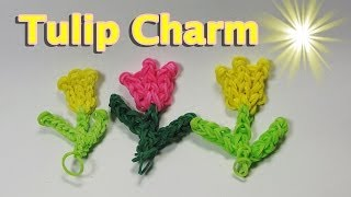 Rainbow Loom Charms: TULIP (Easy): How To Design (DIY Mommy)