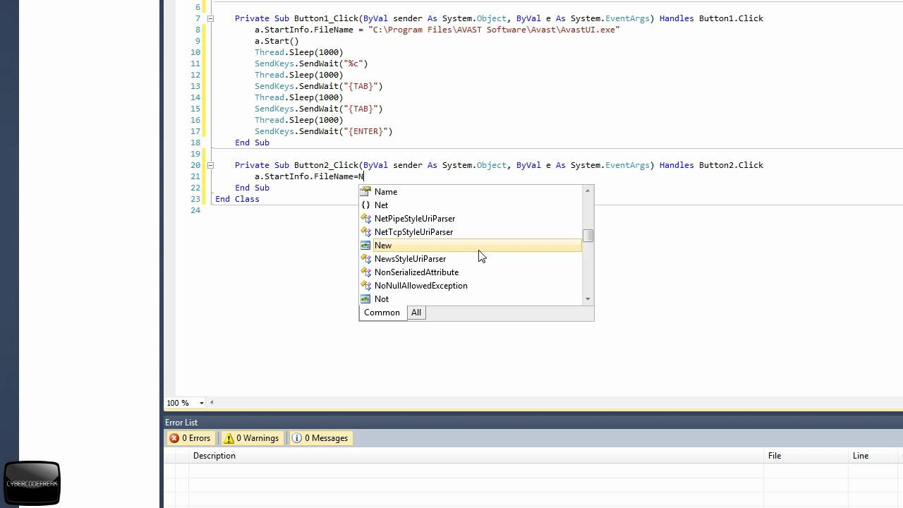 VB 2010 [Tutorial] How To Automate Another Program by Sending Key Presses