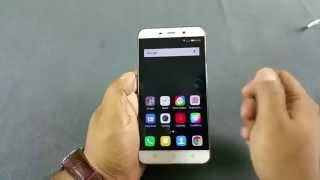 Coolpad Note 3 Notification LED, Adaptive display & Proximity sensor test