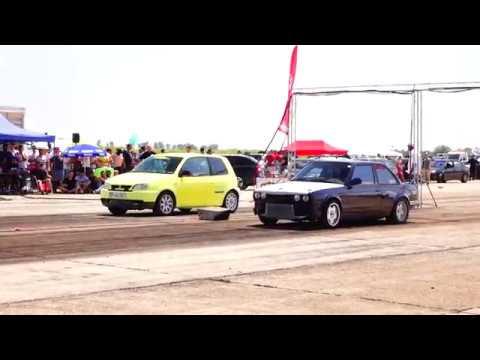 BMW E30 3.2 M3 TURBO 500HP vs VW LUPO TURBO