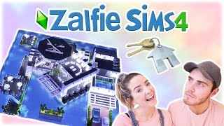 Buying A CRAZY New House   Zalfie Sims Edition [20]