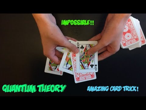 Best Impromptu Card Trick: Quantum Theory Performance and Tutorial!