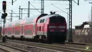 Züge April 2015 Teil 1 Oster Diesel Special BR 218 BR 605
