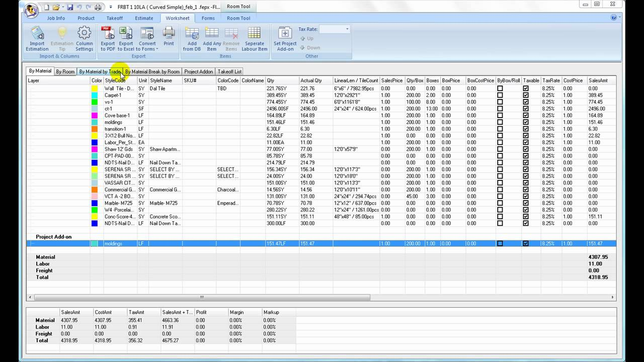 worksheet printout export to excel pdf