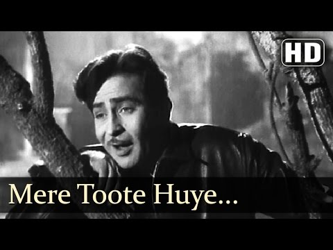 Mere Toote Huye Dil Se - Raj Kapoor - Nutan - Chhalia - Mukesh - Evergreen Hindi Songs