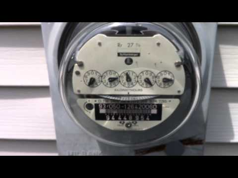 Electric meter running backwards from solar energy!
