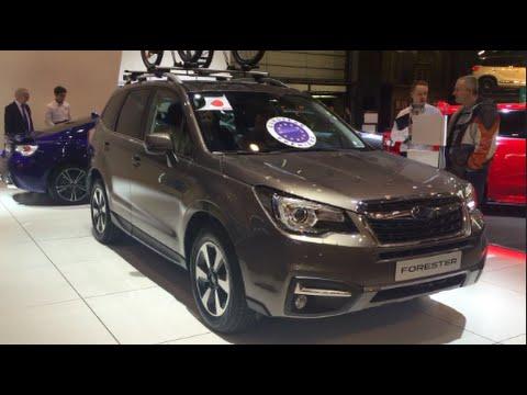 Excellent Subaru Forester 2016 In Detail Review Walkaround Interior