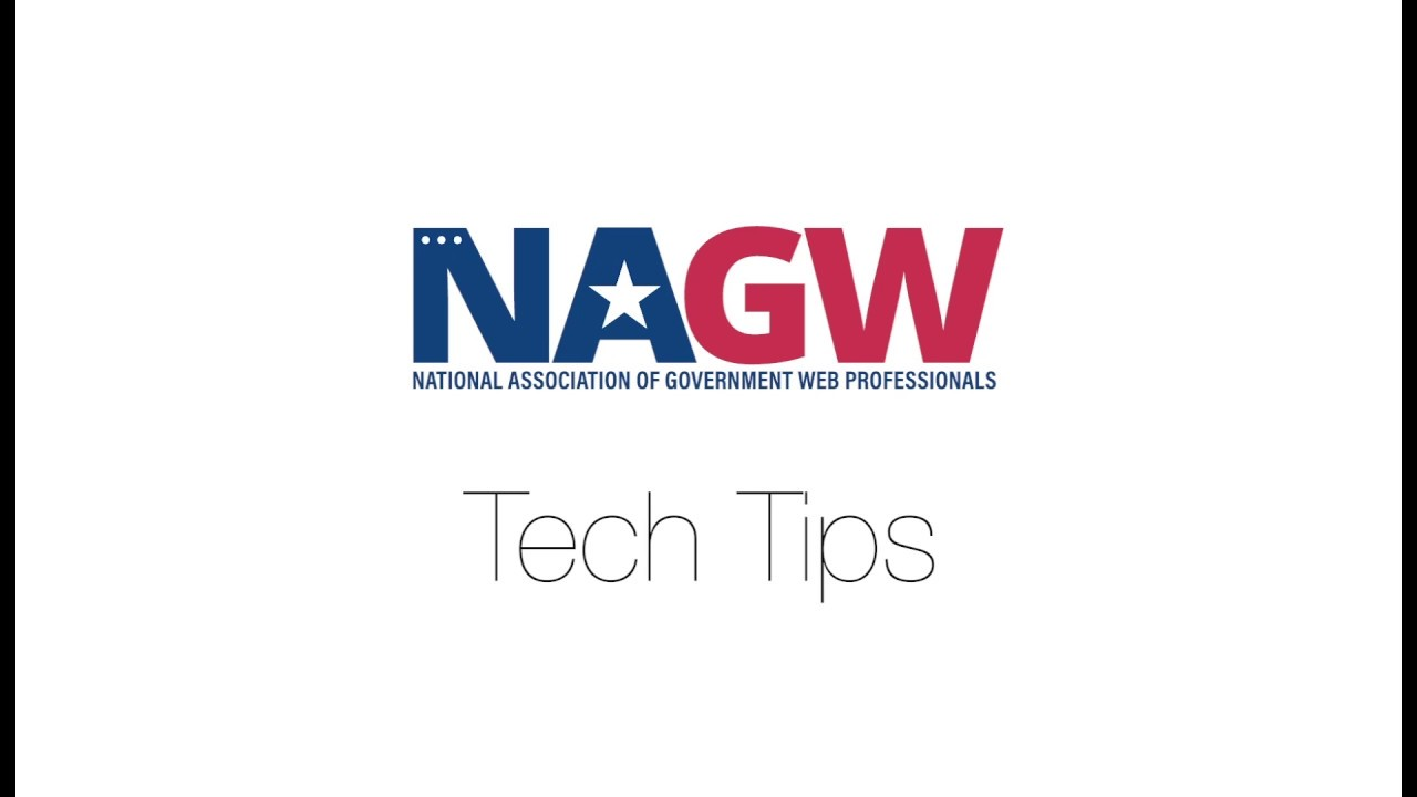 National Association of Government Web Professiona - The