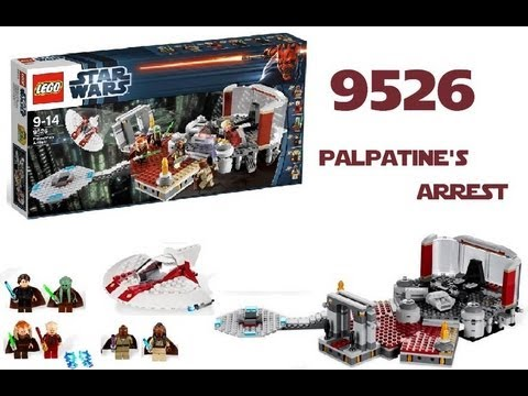 LEGO Star Wars 9526 Palpatine's Arrest™ Review