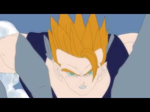 Dragonball salon Gohan fight scene test