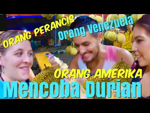 Pertama Kali Bule Makan Durian PART 2| Foreigners DURIAN CHALLENGE