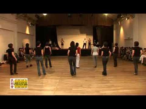 LINE DANCE RED HOT SALSA