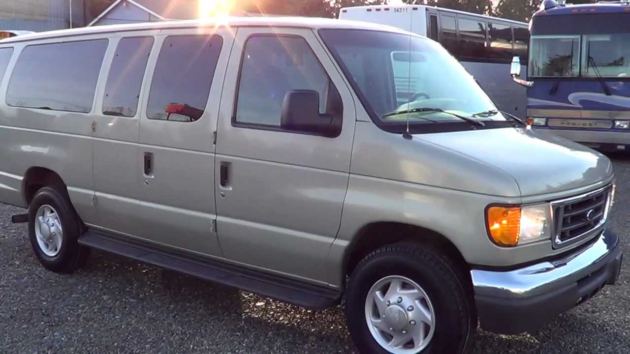 Northwest Bus Sales 2004 Ford 12 Passenger Van For Sale