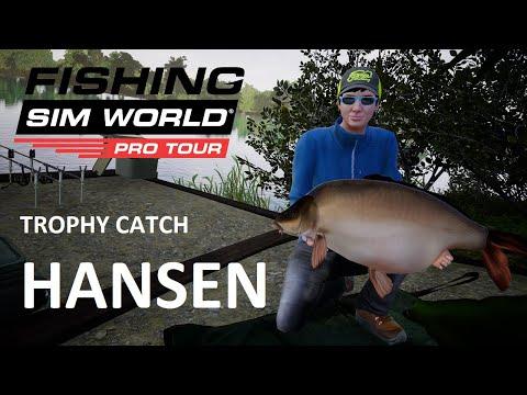 Fishing Sim World Trophy Catch  |  Hansen from Gigantica Road Lake |