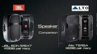 JBL EON 515XT vs. Alto TS115A: Audio Comparison - Sonic Sense Pro Audio